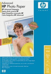 HP Q8697A Advanced Fotopapier A3, 250g, 20 Blatt