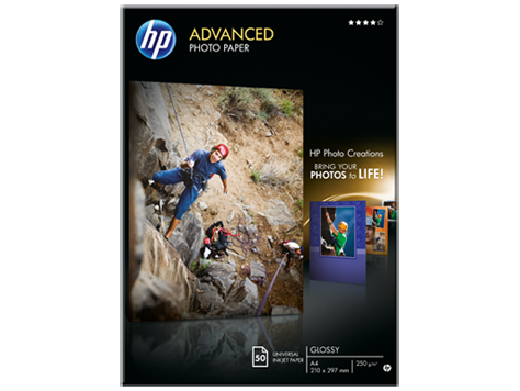 HP Q8698A Advanced Fotopapier A4, 250g, 50 Blatt