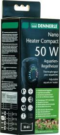 Dennerle Nano Heater Compact Aquarien-Regelheizer, 50W (5698)