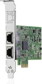 HP 332T, 2x RJ-45, PCIe 2.0 x1 (615732-B21)