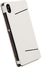 Krusell Malmö FlipCase Stand für Sony Xperia Z3 weiß (75940)