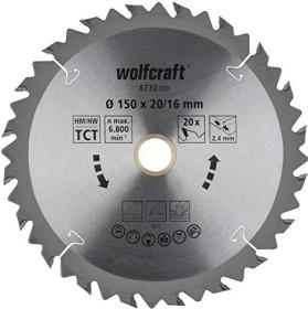 Wolfcraft series Braun circular saw blade 150x2.4x20mm 20Z, 1-pack (6732000)