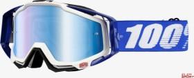 100% Racecraft Goggle cobalt blue/mirror blue lens (50110-002-02)