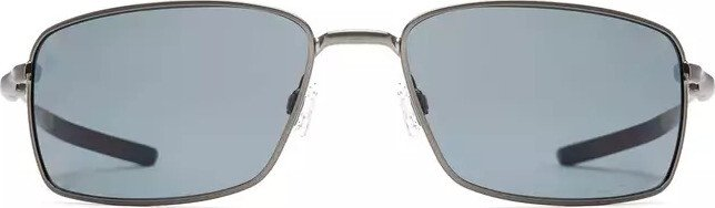 Oakley Herren Sonnenbrille »SQUARE WIRE OO4075«, grau, 407504 - grau/grau