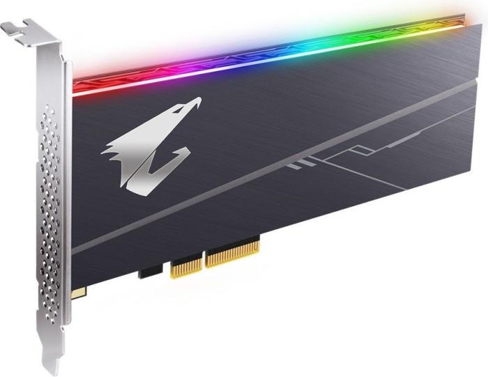 Gigabyte Aorus RGB AIC NVMe SSD 1TB, PCIe 3.0 x4 (GP-ASACNE2100TTTDR)
