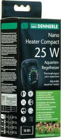 Dennerle Nano Heater Compact Aquarien-Regelheizer, 25W (5697)