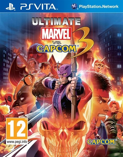 Ultimate Marvel vs. Capcom 3 (englisch) (PSVita)