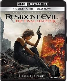 Resident Evil - The Final Chapter (4K Ultra HD) (UK)