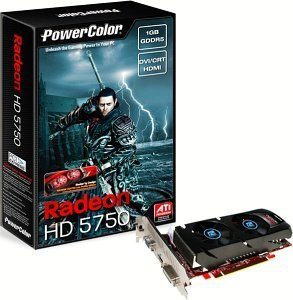 PowerColor Radeon HD 5750 low profile, 1GB GDDR5, VGA, DVI, HDMI (AX5750 1GBD5-LH)