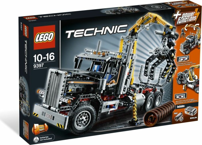 LEGO - Technic - Loggin Truck (9397) -- via Amazon Partnerprogramm
