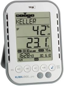 TFA Dostmann KlimaLogg Pro Temperatur-/Feuchtestation Digital (30.3039.IT)