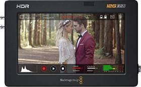 """Blackmagic Design Video Assist 5"""" 12G HDR (BM-HYPERD-AVIDA125HDR)"""