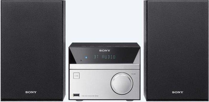 Sony CMT-SBT20B silber/schwarz