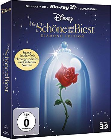 Die Schöne Und Das Biest Disney 3d Ab 894 2019