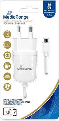 MediaRange Ladegerät 2.4A weiß (MRMA102-02) -- von eBay.de