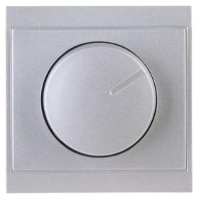 Kopp Malta Dimmer-Abdeckung für Druck-Wechseldimmer, silber (312320180)