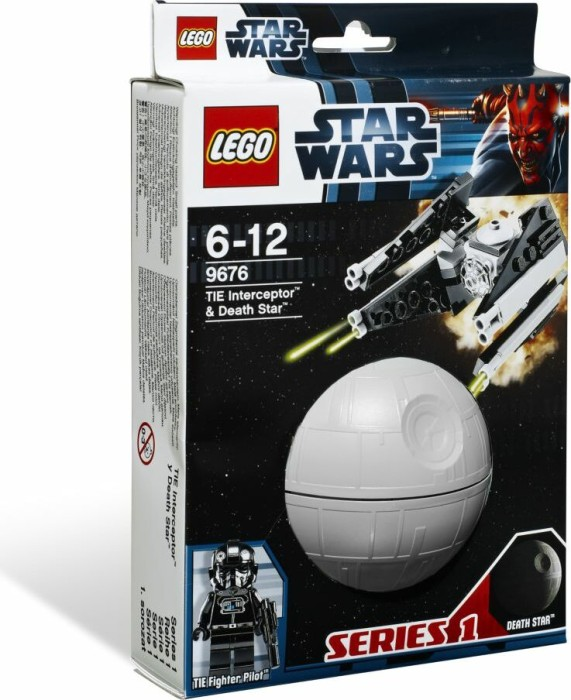 LEGO - Star Wars Buildable Galaxy - TIE Interceptor & Death Star (9676) -- via Amazon Partnerprogramm