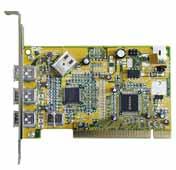Advance 2994 FireWire Karte, 2-Ports, 4/6 Fireware-Kabel, PCI