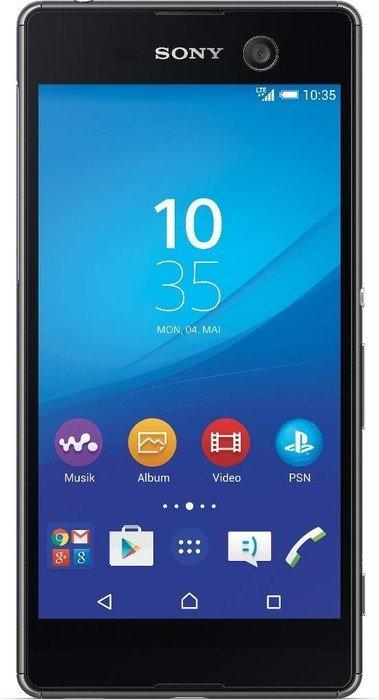 Sony Xperia M5 mit Branding