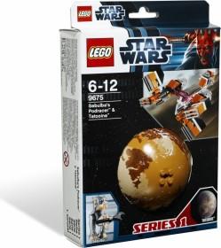 LEGO Star Wars Buildable Galaxy - Sebulba's Podracer & Tatooine (9675)