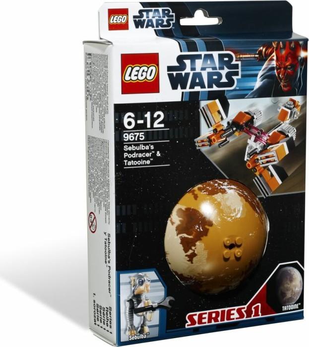 LEGO - Star Wars Budowanie galaktyki - Sebulba's Podracer & Tatooine (9675) -- via Amazon Partnerprogramm