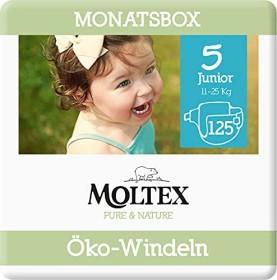 Moltex pure & nature Gr.5 Junior Öko Einwegwindel, 11-25kg, 125 Stück