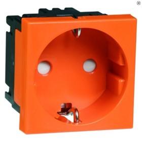 Peha Concept 45 Steckdose SCHUKO, orange (D 6211.33 EMS SI)