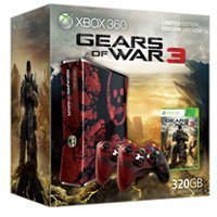 Microsoft Xbox 360 Slim - 320GB Gears of War 3 Bundle