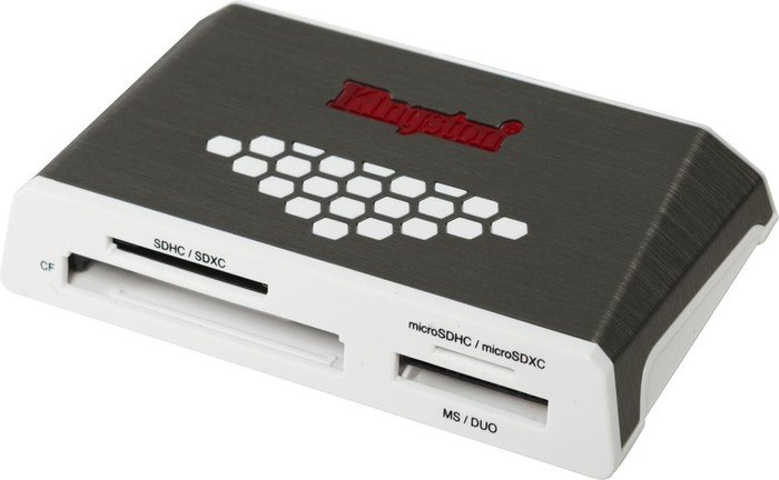 Kingston High-Speed Media Multi-Slot-Cardreader, USB 3.0 Micro-B [Buchse] (FCR-HS4)