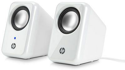 HP multimedia 2.0 speakers, white (H3W58AA)