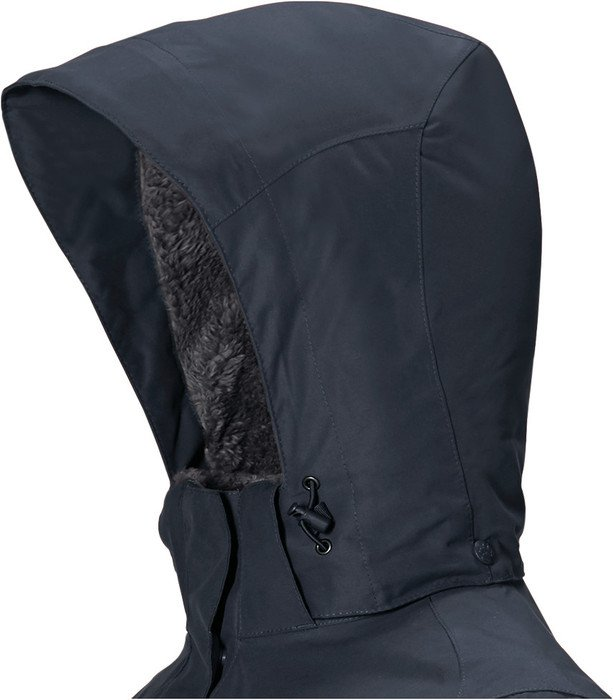 Jack Wolfskin 5th Avenue Mantel schwarz (Damen) ab € 114,19