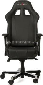 DXRacer King Series Gamingstuhl, schwarz (GC-K06-N-S3)