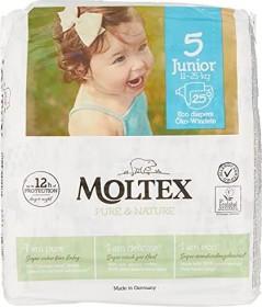 Moltex pure & nature Gr.5 Junior Öko Einwegwindel, 11-25kg, 25 Stück