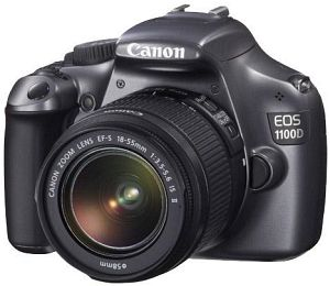 Canon EOS 1100D (SLR) grey with lens EF-S 18-55mm 3.5-5.6 IS II (5164B011)