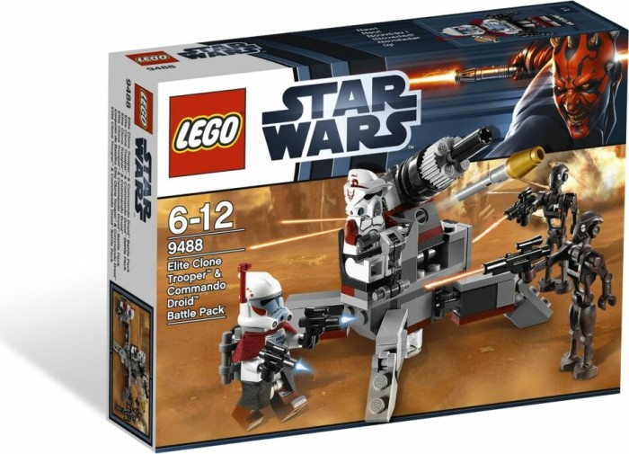 LEGO - Star Wars Clone Wars - Elite Clone Trooper & Commando Droid Battle Pack (9488) -- via Amazon Partnerprogramm