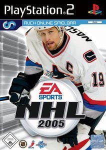 EA Sports NHL 2005 (niemiecki) (PS2)