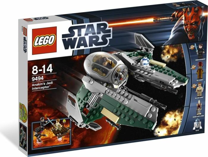 LEGO - Star Wars Clone Wars - Anakin's Jedi Interceptor (9494) -- via Amazon Partnerprogramm