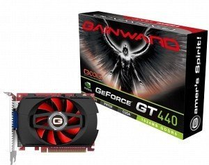 Gainward GeForce GT 440, 1GB GDDR5, VGA, DVI, HDMI (1770)