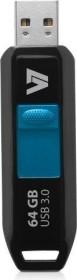 V7 Slider, 64GB, USB-A 3.0 (VU364GDR-BLK-3E)