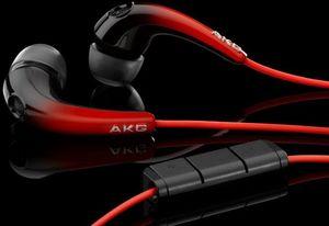 AKG K328 sunburst red