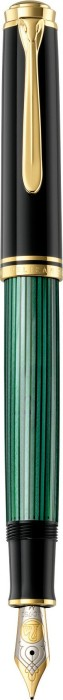 Pelikan Souverän 800 schwarz-grün, mittel (986430)