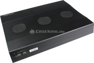Cooler Master NotePal W2 Widescreen Triple Fan Notebook-Kühler schwarz (R9-NBC-AWCK) -- (c) caseking.de