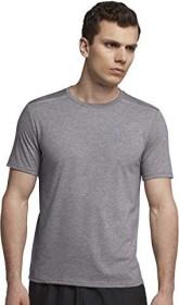 Nike Dri-Fit Rise 365 Laufshirt kurzarm gun smoke/heather/reflective silver (Herren) (892813-036)