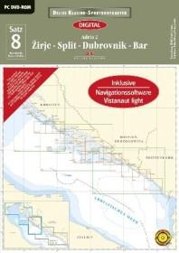 Delius Klasing Sportbootkarten Satz 08: Adria 2 - Ausgabe 2014 (deutsch) (PC)