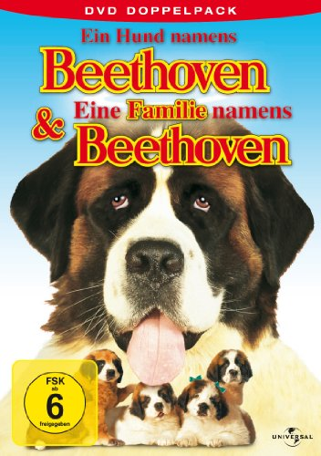 Beethoven 1+2 (Ein Hund/Eine Familie namens Beethoven) -- via Amazon Partnerprogramm