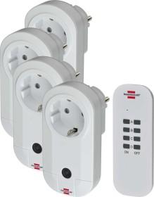 Brennenstuhl RC CE1 4001 Comfort-Line, 4 pieces remote control mains sockets set (1507050)
