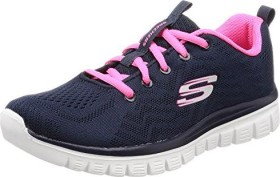 Saltar Quedar asombrado Estado  Skechers Graceful Get Connected blue/pink (ladies) (12615-NVHP) starting  from £ 39.95 (2020)   Skinflint Price Comparison UK