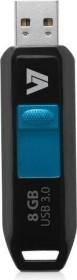 V7 Slider 8GB, USB-A 3.0 (VU38GDR-BLK-3E)