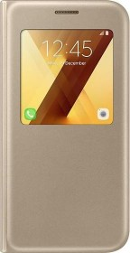 Samsung S-View Standing Cover for Galaxy A5 (2017) gold (EF-CA520PFEGWW)