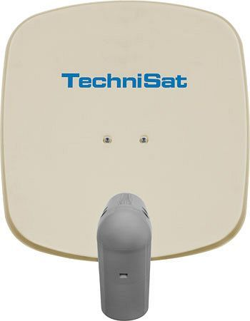 TechniSat Sat-Spiegel Satman 45 beige inkl. Unysat Universal-V/H-LNB (1045/8300)